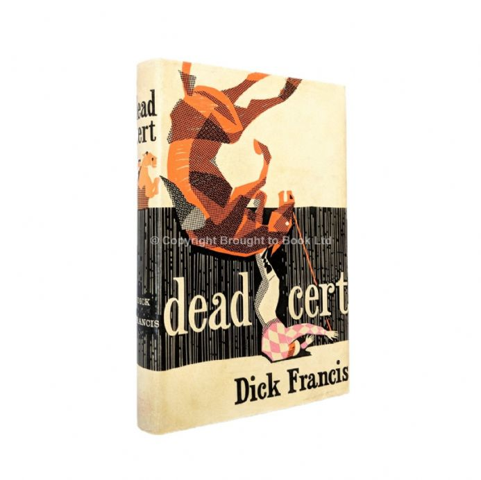 Dead Cert Signed by Dick Francis First Edition Michael Joseph 1962